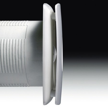 Additional image for Timer Extractor Fan. 100mm (White).