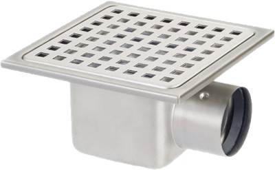 Additional image for Stainless Steel Gully With Side Outlet. Low Profile.150x150x60mm