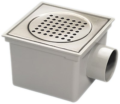 Additional image for Outdoor Gully With Stainless Steel Grate & 3 Inch Side Outlet. 200mm.