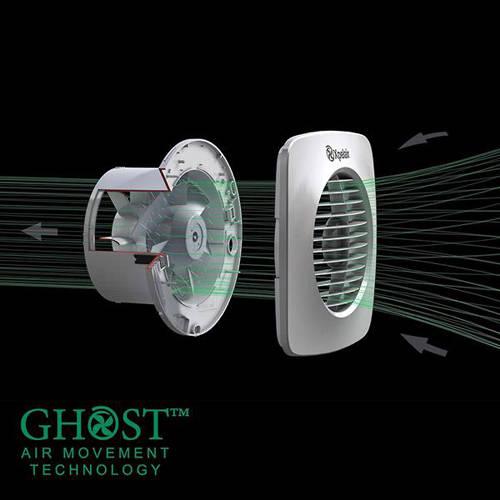 Additional image for 12v Standard Extractor Fan & Kit (100mm).
