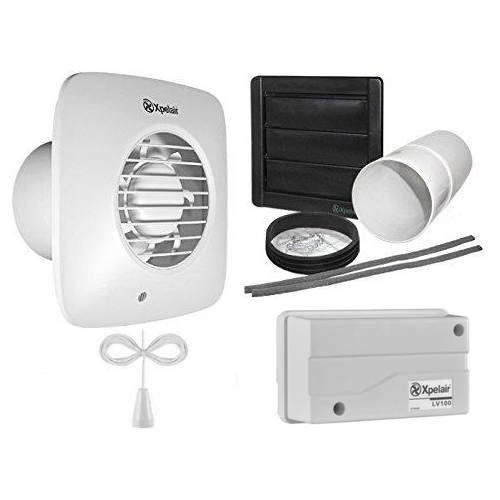 Additional image for 12v Extractor Fan With Pullcord & Kit (100mm).