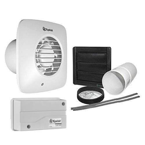 Additional image for 12v Extractor Fan With Timer, Humidistat & Kit (100mm).