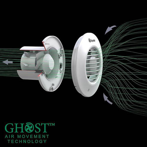 Additional image for Shower Fan With Installation Kit (100mm).