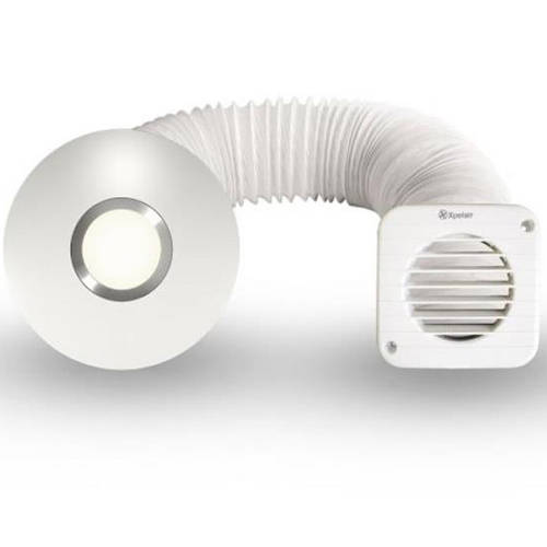 Additional image for Illumi Shower Fan With Installation Kit (100mm).