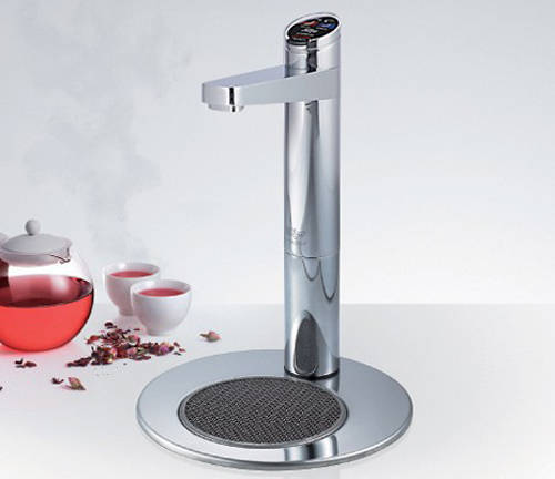 Additional image for Integrated Tap Font & Drip Tray Kit (Bright Chrome).