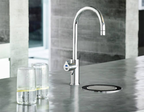 Additional image for Stand Alone Tap Font & Drip Tray Kit (Bright Chrome).