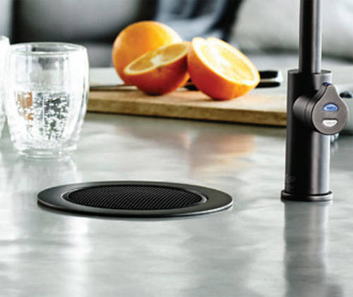 Additional image for Stand Alone Tap Font & Drip Tray Kit (Matt Black).