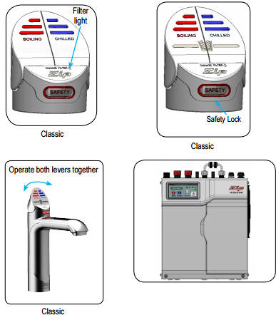 Additional image for Filtered Boiling Hot & Chilled Water Tap (Brushed Chrome).