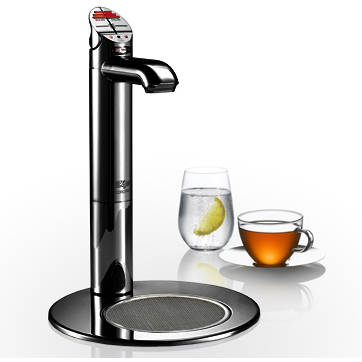 Additional image for Filtered Boiling & Ambient Tap With Font (Gloss Black).