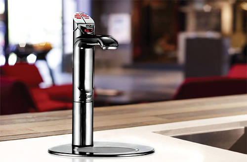 Additional image for Filtered Boiling Tap & Integrated Font (Matt Black).