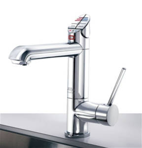 Additional image for AIO Boiling, Chilled & Sparkling Tap (Brushed Chrome, Vented).