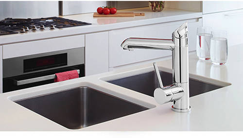 Additional image for AIO Boiling Water, Chilled & Sparkling Tap (Bright Chrome).