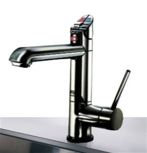 Additional image for AIO Boiling Water, Chilled & Sparkling Tap (Matt Black).