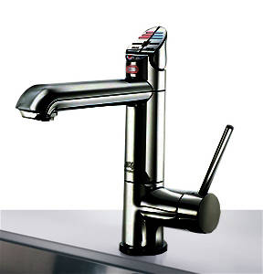 Additional image for AIO Boiling & Chilled Kitchen Tap (Gloss Black, Vented).