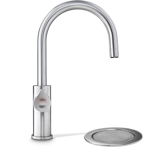 Additional image for Filtered Boiling & Chilled Tap & Font (61 - 100 People, Brushed Chrome).
