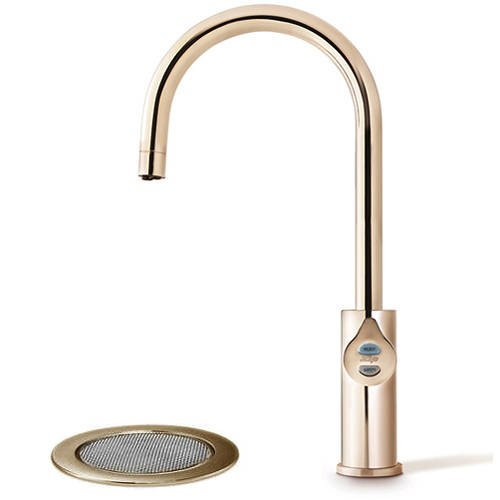 Additional image for Filtered Boiling & Chilled Tap & Font (61 - 100 People, Brushed Rose Gold).