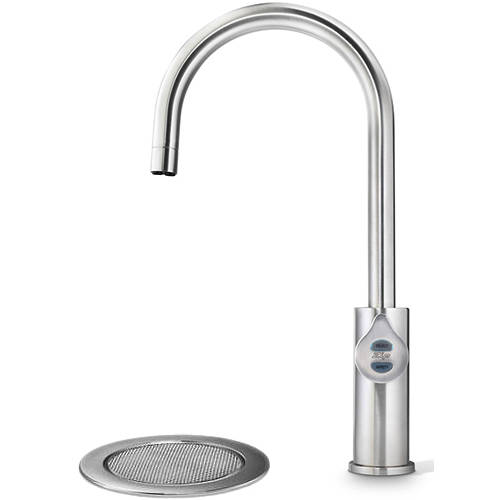 Additional image for Filtered Boiling Water Tap & Font (61 - 100 People, Brushed Nickel).