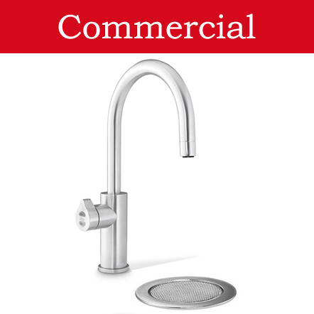 Additional image for Filtered Boiling Water Tap & Font (61 - 100 People, Brushed Chrome).
