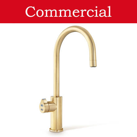 Additional image for Filtered Boiling Water Tap (61 - 100 People, Brushed Gold).