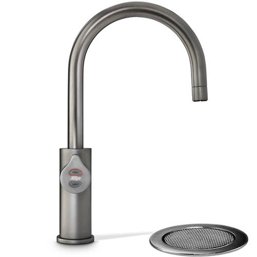 Additional image for Filtered Boiling Water Tap & Font (61 - 100 People, Gunmetal).