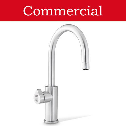 Additional image for Boiling, Chilled & Sparkling Tap (41 - 60 People, Brushed Chrome).