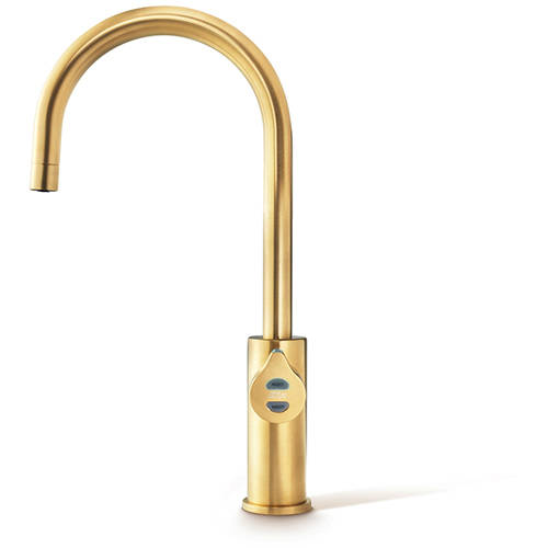 Additional image for Boiling, Chilled & Sparkling Tap (41 - 60 People, Brushed Gold).