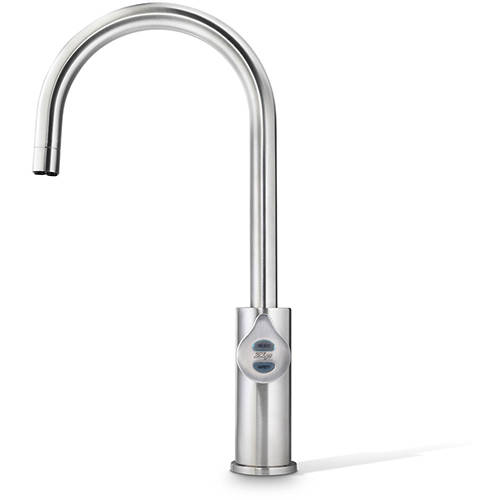 Additional image for Boiling, Chilled & Sparkling Tap (61 - 100 People, Brushed Nickel).