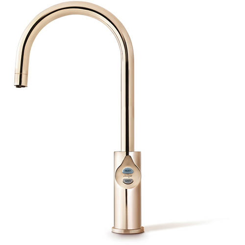 Additional image for Boiling, Chilled & Sparkling Tap (61 - 100 People, Brushed Rose Gold).