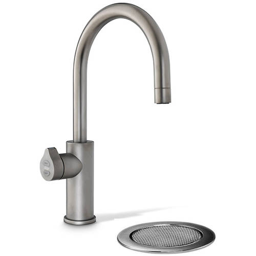 Additional image for Boiling, Chilled & Sparkling Tap With Font (Gunmetal).