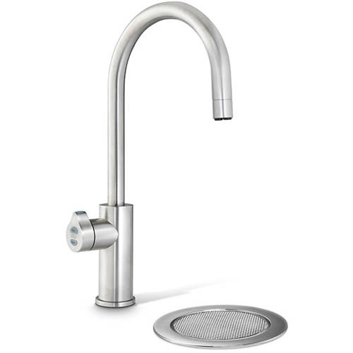 Additional image for Filtered Boiling Hot Water Tap & Font (Brushed Nickel).