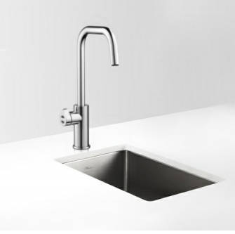Additional image for Filtered Boiling Hot & Chilled Water Tap (Bushed Chrome).
