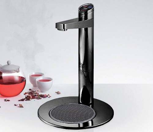 Additional image for Filtered Boiling Tap & Integrated Font (Gloss Black).
