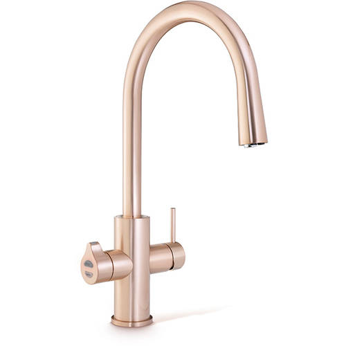 Additional image for AIO Boiling, Chilled & Sparkling Tap (Brushed Rose Gold).