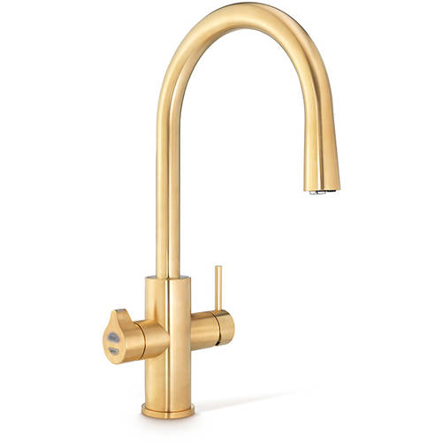 Additional image for AIO Boiling & Chilled Water Tap (Brushed Gold).